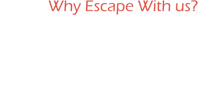 Why Escape With us? Fun Night Out Birthday Parties Special Events Corporate Outings Bowling Option Available Hall of Fame Lounge Food Menu Available Located just 15 minutes from Hershey! Located inside a family frienldy facility.