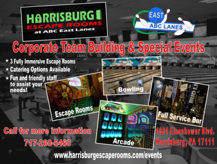 Home | Escape Rooms at ABC East Lanes